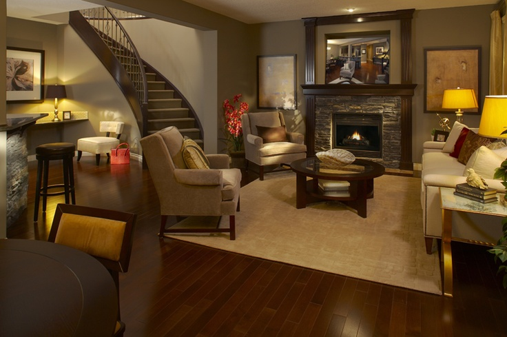 Front Living Room | WestView Builders | Montrose Calgary | Showhome