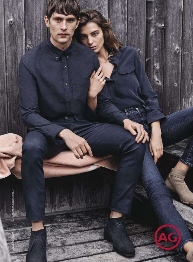First Look: Mathias Lauridsen for Adriano Goldschmied Fall/Winter 2014 Campaign