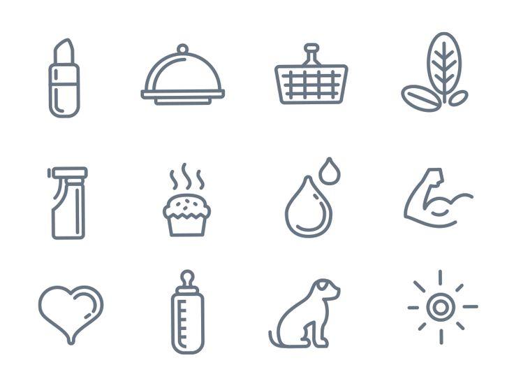 Custom icons by Ivan Manolov