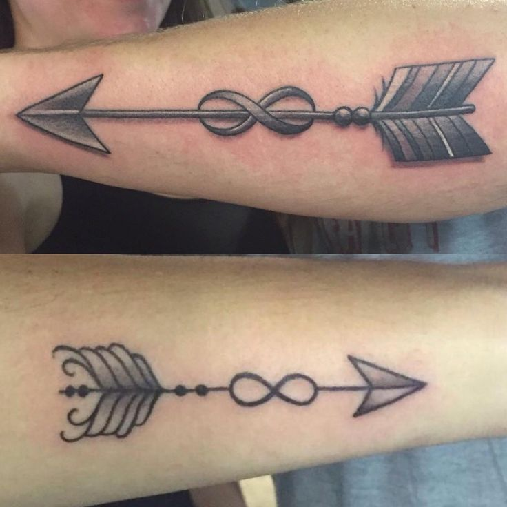 25 best pfeil images on pinterest tattoo ideas little for Infinity arrow tattoo