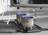 COMBUSTIBIL SOLID PENTRU CHAFING DISH- PRODUS PROFESIONAL HORECA  Combustibil Solid Chafing Dish 'Blaze' conserva 'Blue Blaze B-B100', derivat din etanol, timp de ardere: ± 2.5 ore per conserva, arde fara funingine si fara miros,  unitate de comanda 72 bucati, 200 g