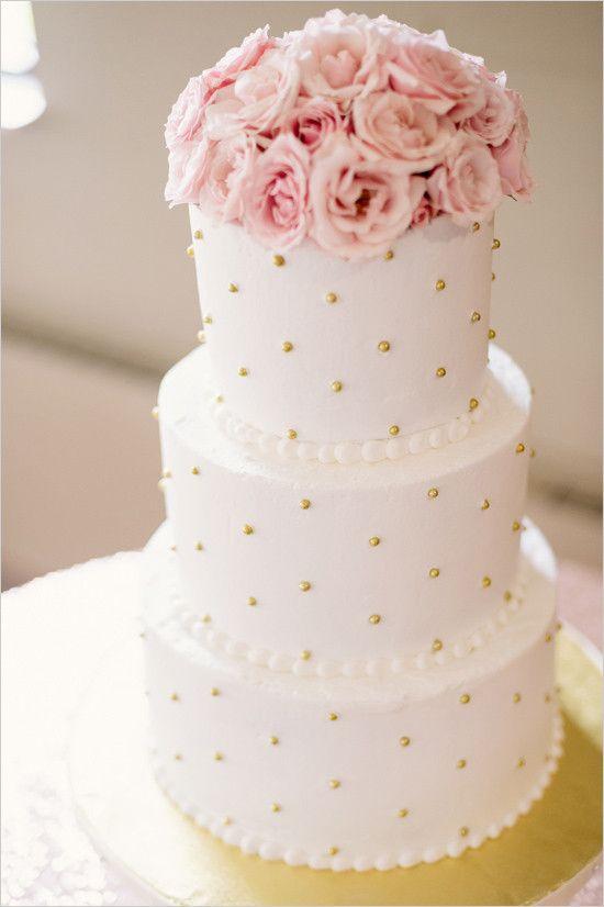 #goldandpinkcake #weddingcake @weddingchicks