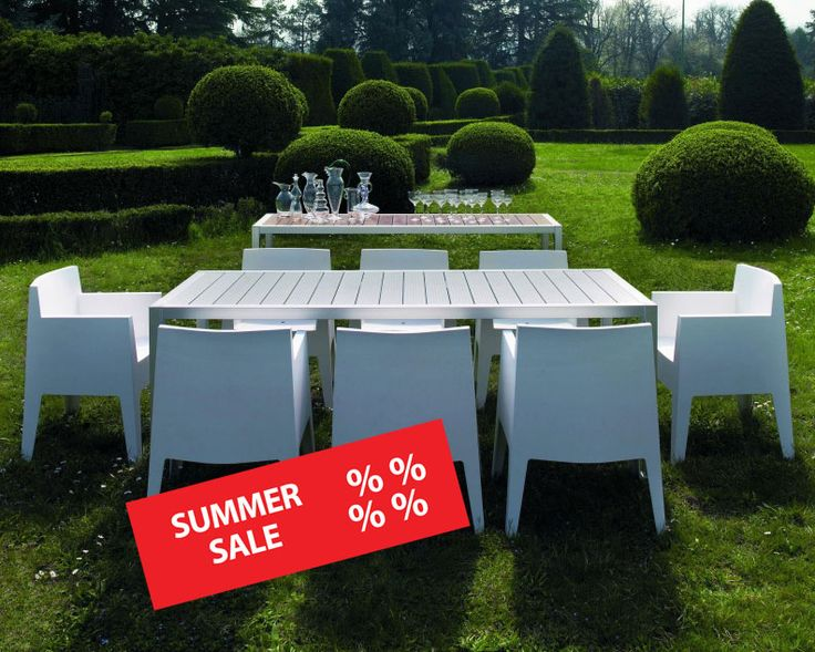 Summer sale - hot prices, exclusive bargains!  Discover in our design outlet reduced design highlights - they're just waiting for you!  Shop the Toy outdoor chair by Driade Store - a real classic for garden & balcony - now for only € 138,-!   http://www.ambientedirect.com/en/driade-store/toy-garden-chair_pid_503_523.html  More hot design bargains in our summer sale special: http://www.ambientedirect.com/en/design-special/summer-sale