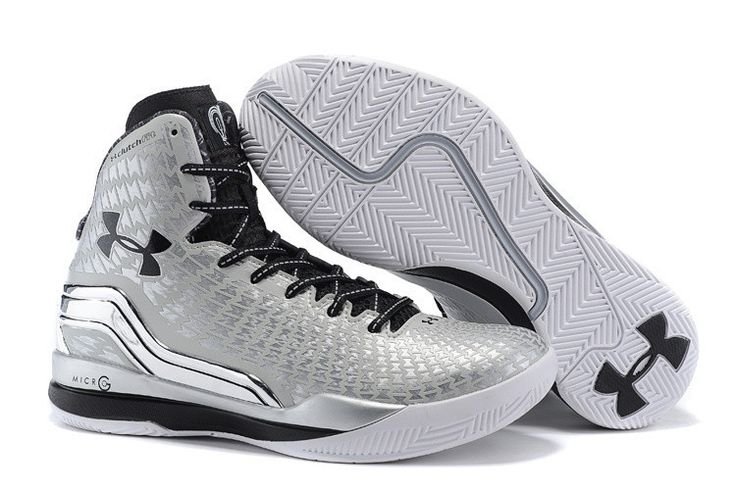 black and grey under armour shoes