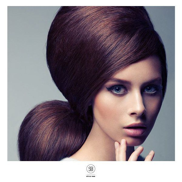 Would you risk something this bold for an event?  #hairinspiration #upstyle #hairstyle #brunette #haircare #haircolour #hairstylist #glamorous #hair