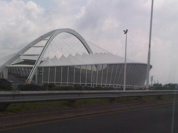 World Cup South Africa -Stadium in Durban