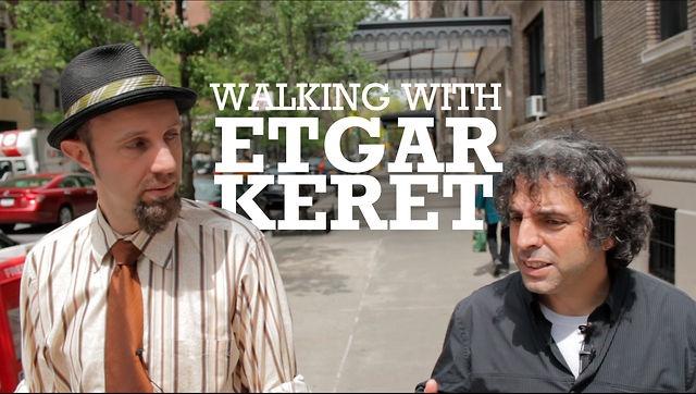 Walking with Etgar Keret by Jewish Daily Forward