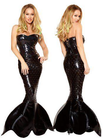 Amazon.com: Sexy Mermaid Mistress Costume -