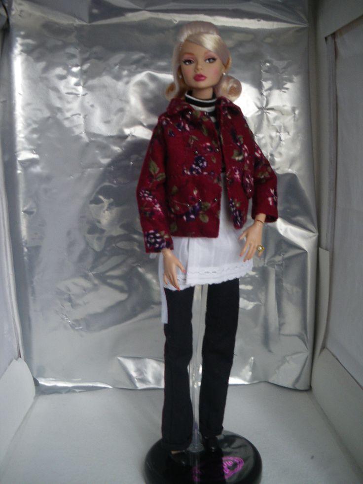 Nouvelle veste pour Poppy Parker, un peu de douceur