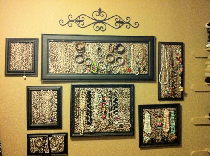109 best Jewelry Storage Ideas I love images on Pinterest Good