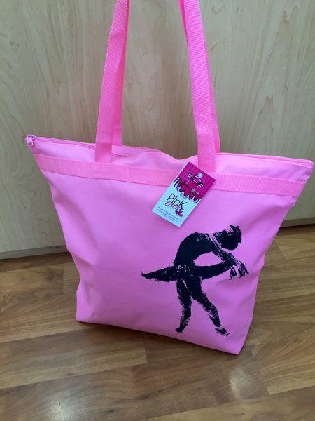 Ballerina Tote Bag <3 Beautiful !  Shop Now! pinktutushop.com #dance #dancer #ballet #ballerina #pinktutu #pinktutushop #bag #dancebag #ballerinabag #balletbag #ballerinastuff