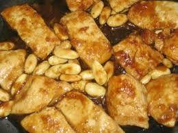 Petti di pollo alle Mandorle
