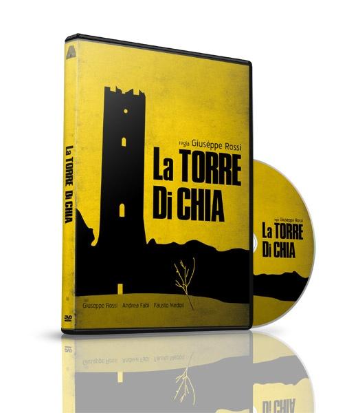 La Torre di Chia, cortometraggio - DVD Packaging