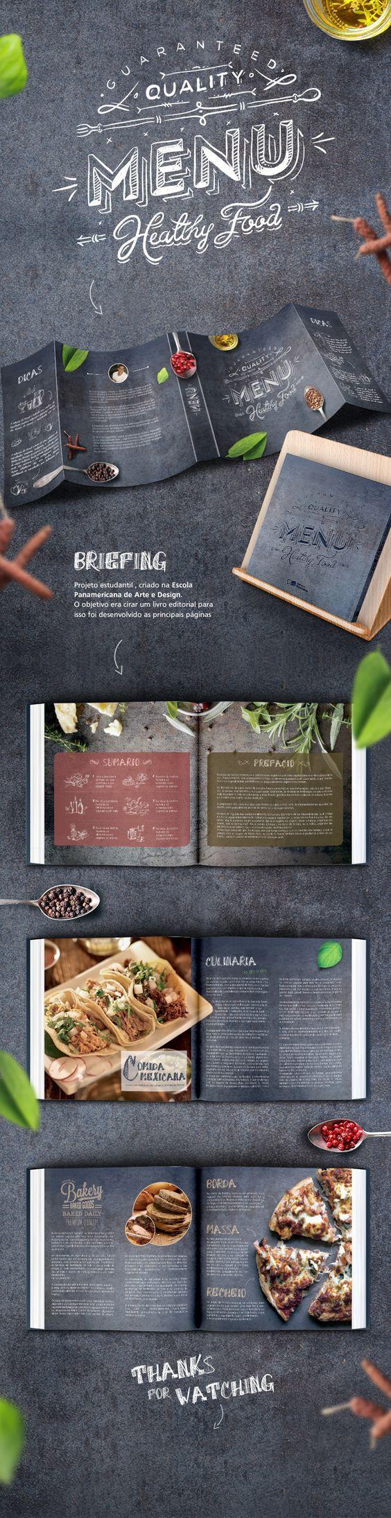 https://www.behance.net/gallery/20777487/Menu-Book-Gastronomy: