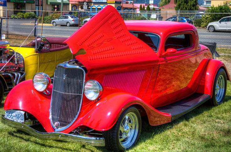 Classic Ford Hot Rod Duncan Vancouver Island Bc