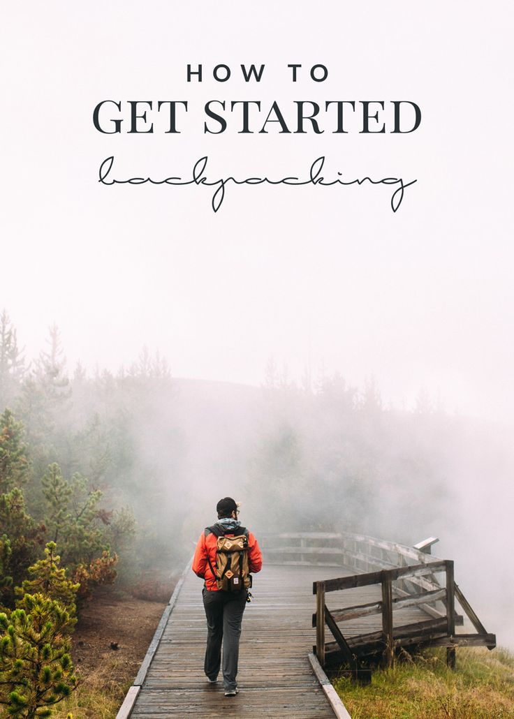 These three tips are a great way to get started backpacking and enjoying the great outdoors! A must-have list for beginner backpackers.
