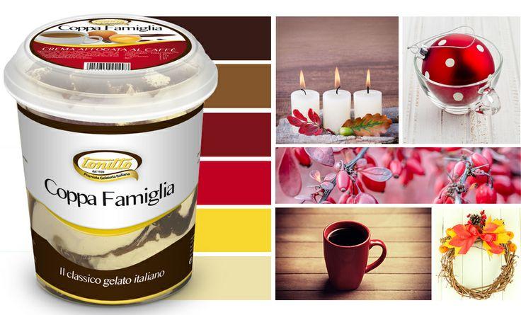 """""""Coppa Famiglia"""" gusto Affogato al caffè - il gelato nel pratico formato da 500gr - by TONITTO"""