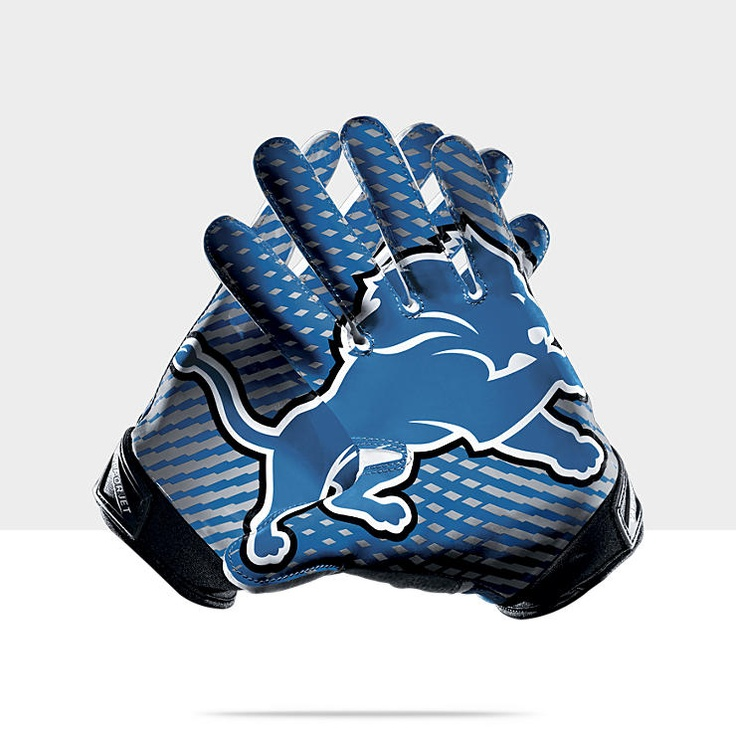Nike Vapor Jet 2.0 NFL Lions Mens Football Gloves  What to wear  Pinterest  Football