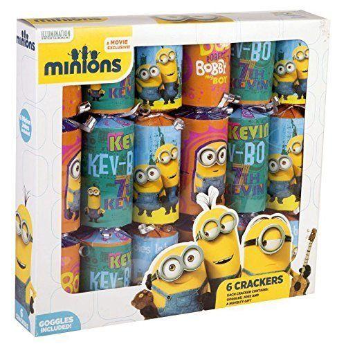 Set 6 Pocnitori cu Suprize Minions - Gonflabile RMS Suprizele includ: 6 ochelari tip minioni din carton, 6 glume minioneze, carticica de colorat, autocolante, carticica uneste punct cu punct, puzzl...
