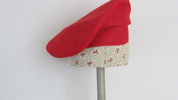 felt hat made from an original 1939 pattern
