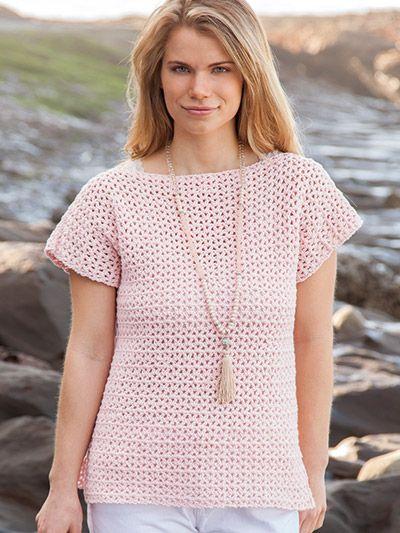 Easy to Crochet Summer Women's TEE Pattern