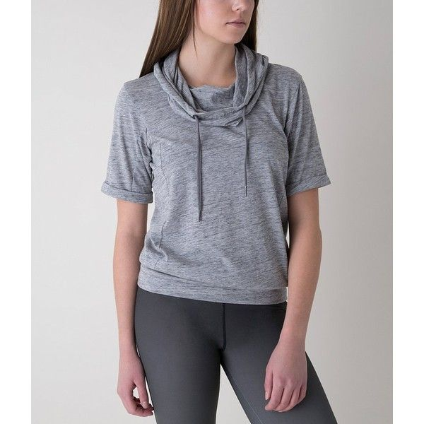 Bench Roll Reach Hoodie ($30) ❤ liked on Polyvore featuring tops, hoodies, grey, grey top, hooded sweatshirt, bench top, grey hoodies and gray hoodie