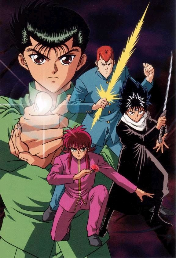 yu yu hakusho is a great show!