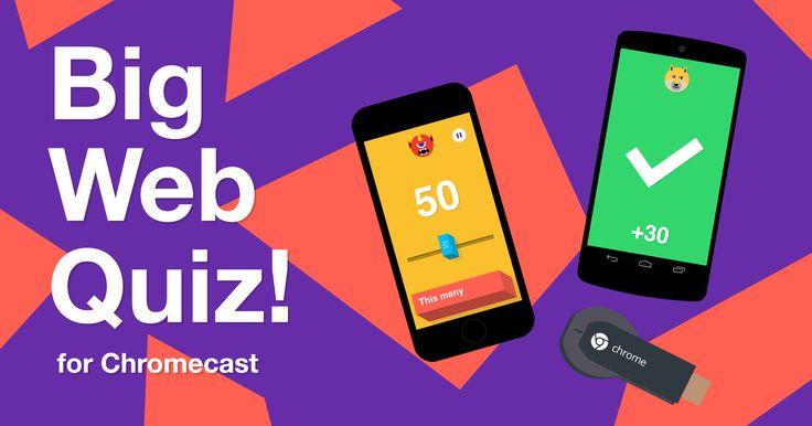 Big Web Quiz for Chromecast uses Google Knowledge Graph and Chromecast to bring…