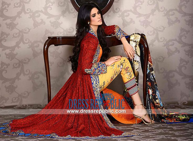 Asim Jofa Lawn Collection 2014 in UK  Luxury Lawn Dresses for Summer: Buy Online Asim Jofa Lawn Collection 2014 in Birmingham, United Kingdom. Call Manchester 0161 408 8994. by www.dressrepublic.com