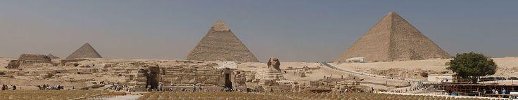 Necrópole de Gizé. # Cairo, Egito.
