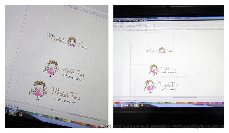 Como fazer etiquetas artesanais em casa | Juju Teteia