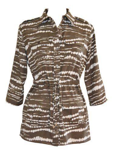 Calvin Klein Women's Shirts Drawstring Blouse with Pockets XS Retail .... Save 49 Off!. $39.99