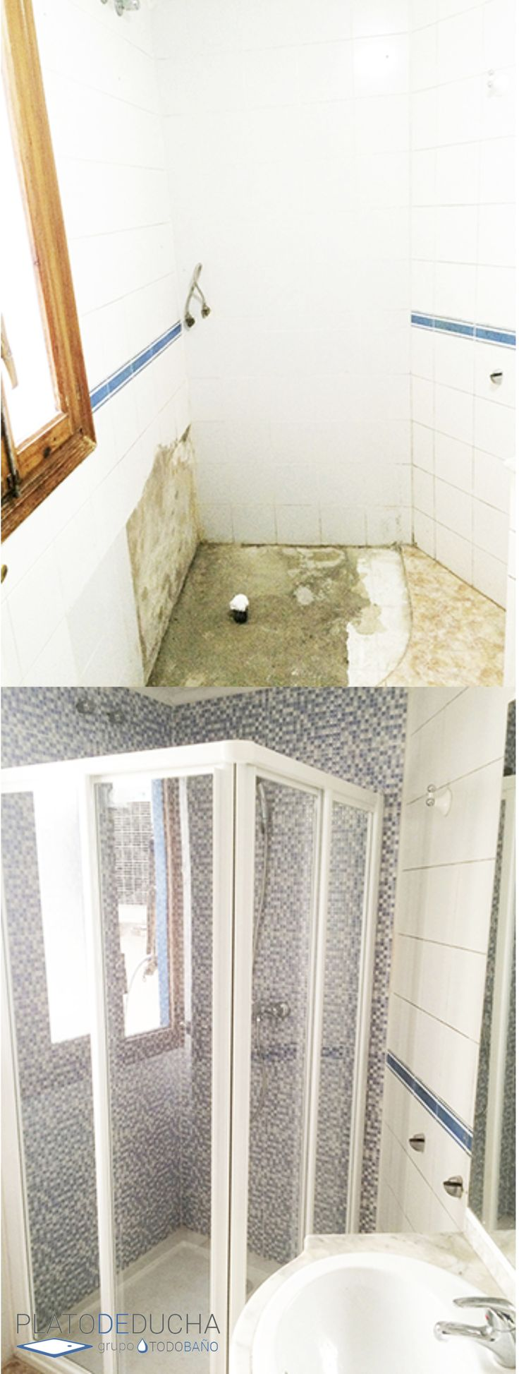Platos de ducha y mamparas baratos cool a nuestra tienda for Platos de ducha baratos