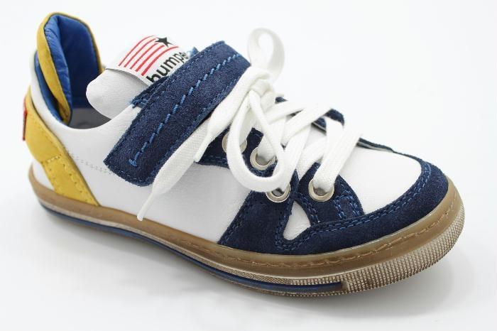 Bumper sneaker lace velcro combi