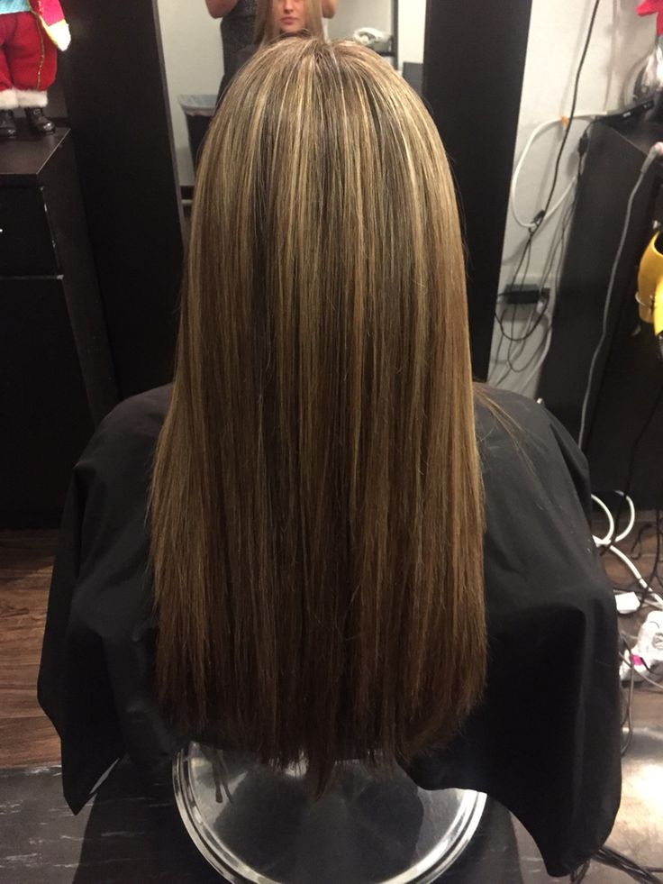7 best mechas e luzes images on pinterest strands and hairstyle after full head highlights pmusecretfo Image collections