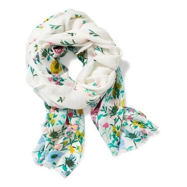 Printed Linear Scarf | Old Navy ❤ liked on Polyvore featuring accessories, scarves, old navy and old navy scarves