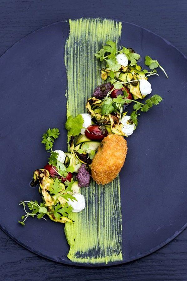 Best 25 salad presentation ideas on pinterest for Creation cuisine