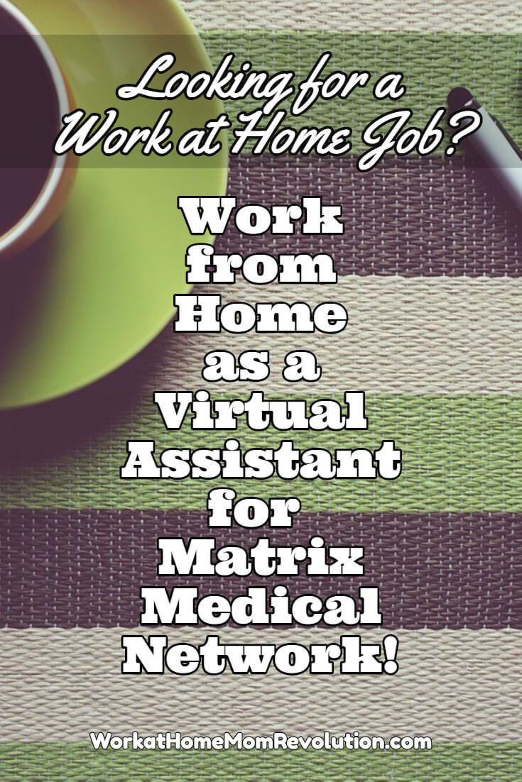 virtual work from home work at home virtual assistant jobs with matrix medical 3981