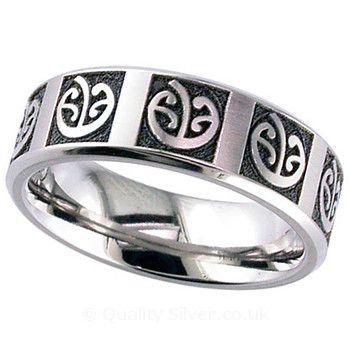 Geti Flat Titanium Mangopare Ring