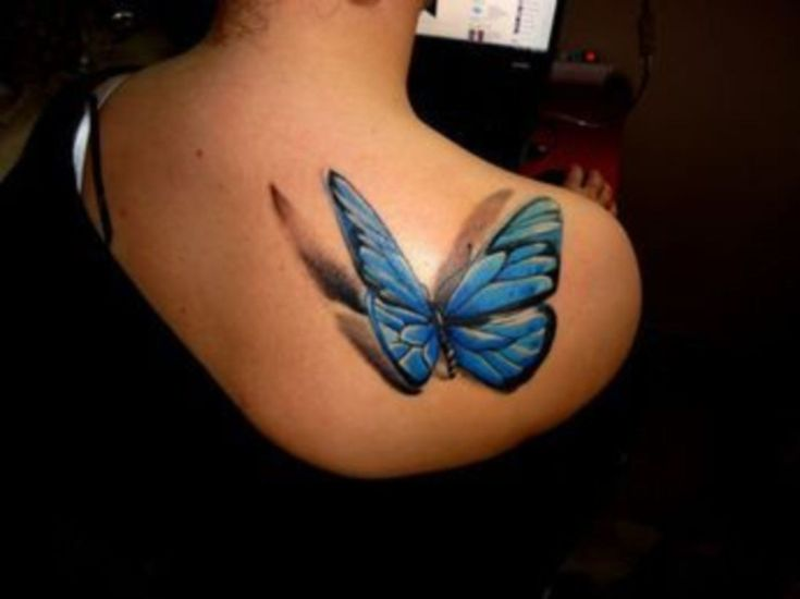 Amazing Latest 3D Tattoos For Women Style 11