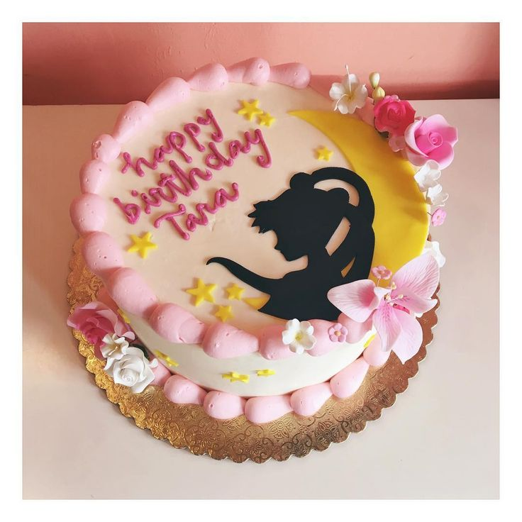 Sailor Moon cake by 2tarts Bakery #2tartsbakery #sailormooncake #nbtx