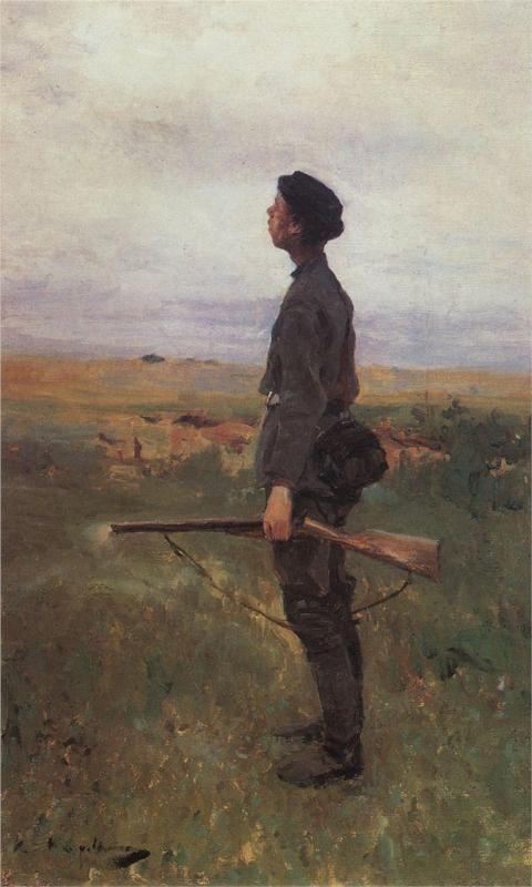 Konstantin Korovin (Russian 1861–1939) [Impressionism, Art Nouveau] A poor shot…