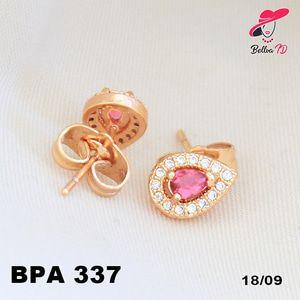 Perhiasan Xuping Emas Stud Permata Ruby Lapis Emas PA 337  Perhiasan Xuping Lapis Emas 18k, Awet dan Tahan Lama, pancaran kilau cantik . Tampil cantik dengan keunikan pilihan model dan warna sesui hati anda  Fast Respon Pin BBM : D5B0B9AB  WA/SMS/Telp : 081546577219  bahan dasar tembaga (bukan besi). dilapisi RODHIUM yang biasanya digunakan untuk melapisi emas di toko-toko emas 18k.Permata Zircon, Bisa di sepuh ulang dan anti alergi.