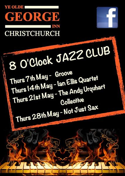 Live Jazz with Andy Urquhart & Ian Ellis Tomorrow at the George. Come and join us as we get close to the Bank Holiday weekend!