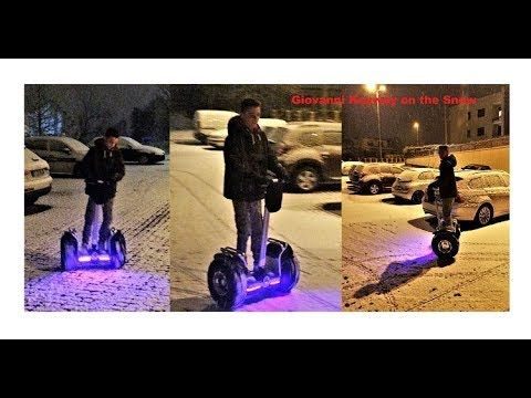 Giovanni Keyway ES6 S Off Road on the Snow