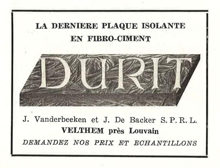Plaque Isolante En Fibro-Ciment