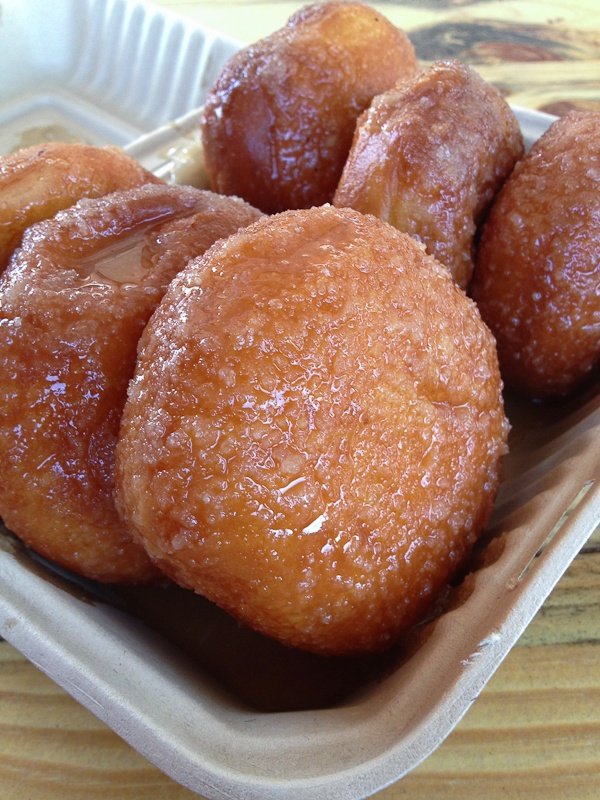 Donuts from Arki food truck in San Francisco