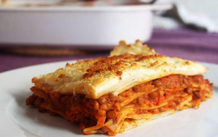 """<span itemprop=""""name"""">Lasaña con boloñesa de lentejas</span>"""