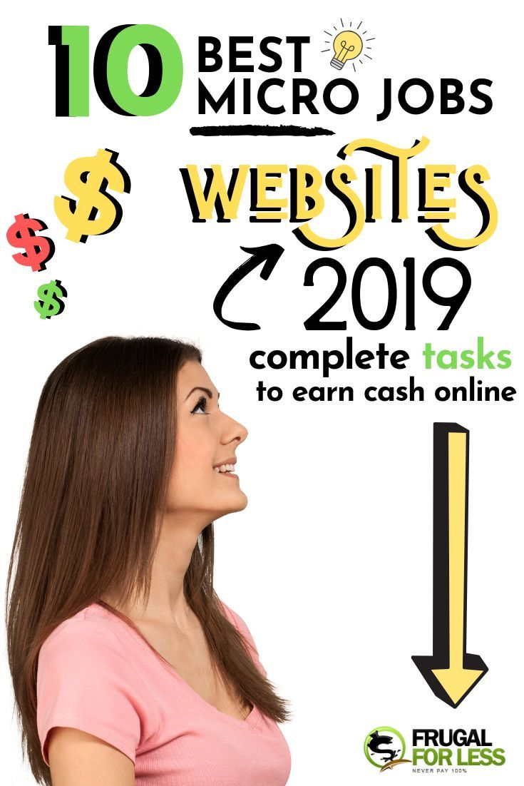 10 Best Micro Job Sites List 2019: Compete Tasks To Earn Cash Online – Work From Home