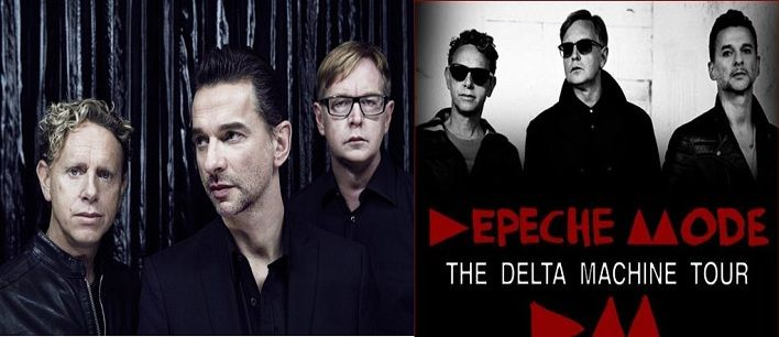 Depeche Mode LIVE Concert Sunday Sep 1 2013 @ Molson Amphitheatre